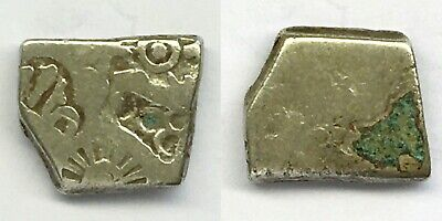 Ancient Silver PunchMark Coin Of Mauryan Empire 215 BC     #BBBB