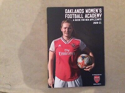 Oakland's Women Football Academy Prog 2020 ( ARSENAL WOMEN FC)