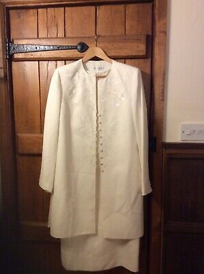 Mother Of The Bride Condici Set Dress and Coat Size 16 Excellent  Condition