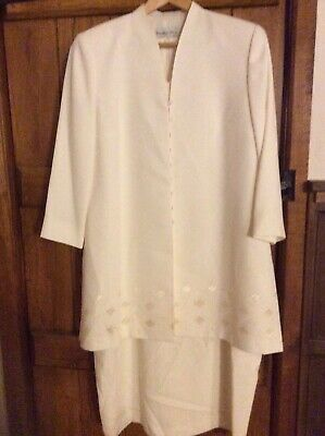 Mother Of The Bride Condici Set Dress and Coat Excellent Condition Size 18