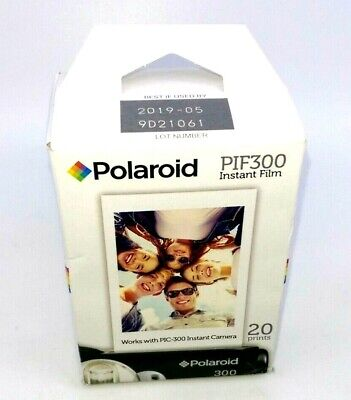 Polaroid PIF 300 Instant Film - 20 Prints best by 05/2019