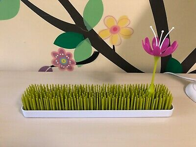 Boon Patch Grass & Flower Countertop Drying Rack for Baby Bottle Feeding Holder