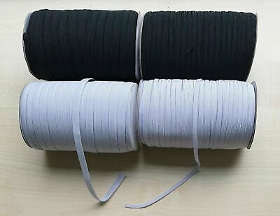 Flat Elastic -Corded~Premium Quality~Various Widths & Lengths~Same Day Dispatch