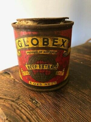 Globex Beef Extract collector tin