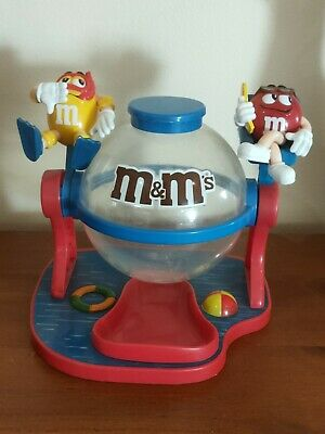 M&M's Australian Red and Yellow Lifesavers Dispenser Jar - Pre Owned