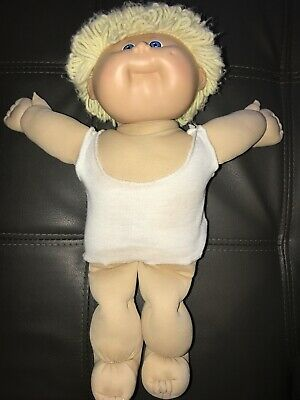 Vintage Cabbage Patch Doll Blonde Hair Blue Eyes 1978-1982