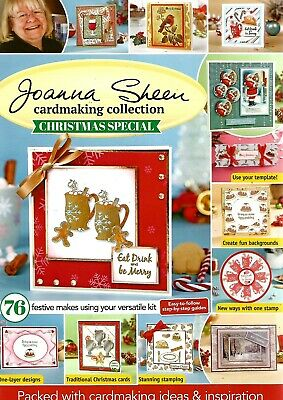 JOANNA SHEEN CARDMAKING COLLECTION XMAS SPECIAL MAGAZINE FREE GIFT (see details)