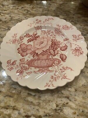 """Vintage 1930s CLARICE CLIFF PLATE Royal Staffordshire Dinnerware 6.5"""""""