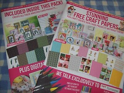 Crafts Papers  For Cardmaking.  3 Sets.