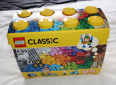 Lego 10698 Classic Large Creative Brick Box 790 Pieces New Sealed