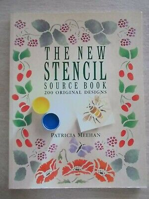 The New Stencil Source Book~Patricia Meehan~200 Original Stencils~144pp P/B