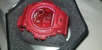 Casio G-Shock Digital Quartz Red Resin Gmd-S6900Sm-4Er Unisex's Watch