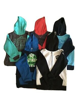 5x Boys Size 10 Hoodies. Pre-loved