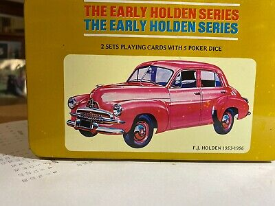 Early Holden Series Playing Cards