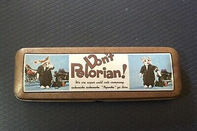Rare Vintage Perlorian, Nameneko, Namennayo, Don't Pelorian!, Tin Pencil Case