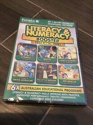 Literacy & Numeracy Booster Computer Disc Ages 4-14 Years