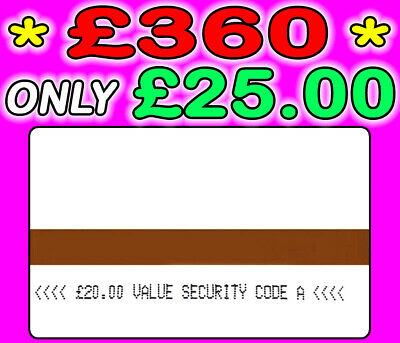 Meter Cards Ampy £340 Credit Only £25.00 Code A - FAST & FREE
