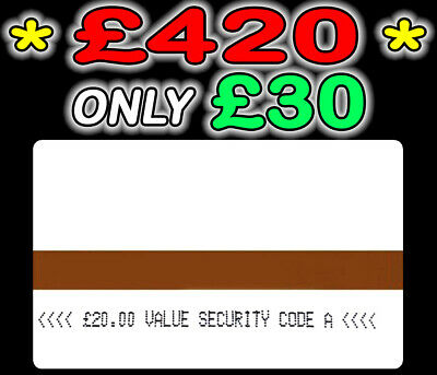 Ampy Electric Meter Cards £400 Credit For Only £30 Security Code A LOW PRICE