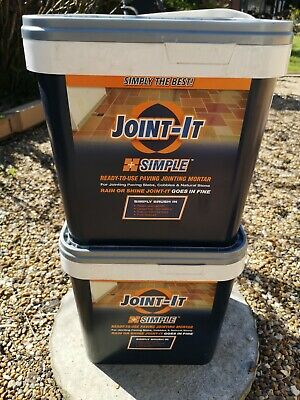 Joint it Easy Paving Grout Jointing Mortar Compound 20Kg Light Grey