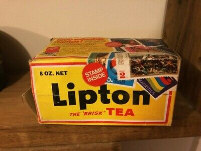 Lipton tea empty packet