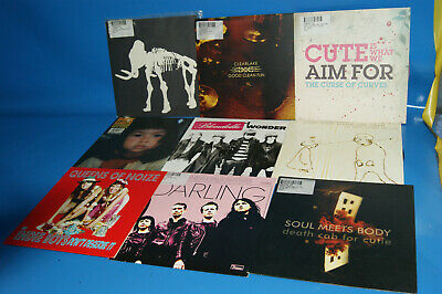 Lote 9 Discos EPs  -singles indies-BMX BANDITS-DEATH CAB FOR CUTIE-CLEARLAKE