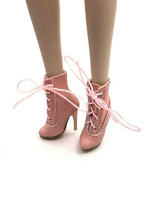 1//6 ooak Handmade Outfit Shoes Boots Fashion Royalty NU.Face Integrity Doll B3