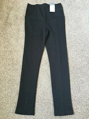BNWT Black Girls Trousers by Primark Age 7-8