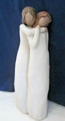 "Willow Tree Chrysalis Mother/Daughter 8.5"" High Figurine by Lordi 2004"
