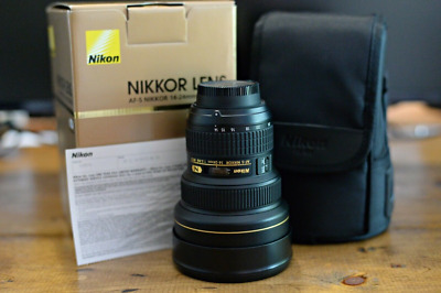 Nikon AF-S NIKKOR 14-24 mm f/2.8G ED Lens In Mint Condition