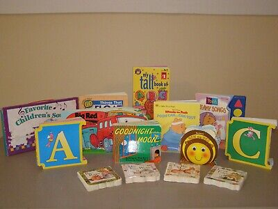 LOT of 17 Board Books for Young Children Toddlers Preschool Goodnight Moon...