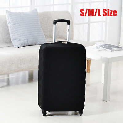 Luggage Cover Devil Dog With Red Cloaked Skeleton Skull Protective Travel Trunk Case Elastic Luggage Suitcase Protector Cover