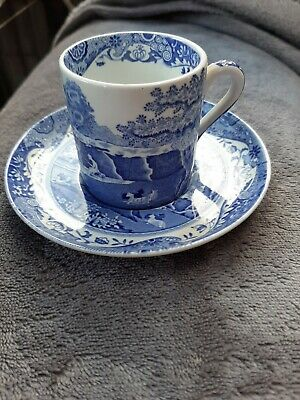 Spode Italian Coffee Cup And Saucer. Vgc.**Last Listing**