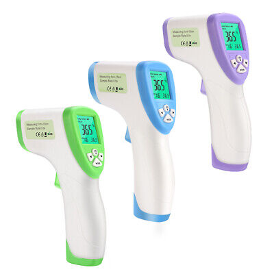 Thermometre Infrarouge Sans Contact Adulte Enfant Bebe Temperature Precision