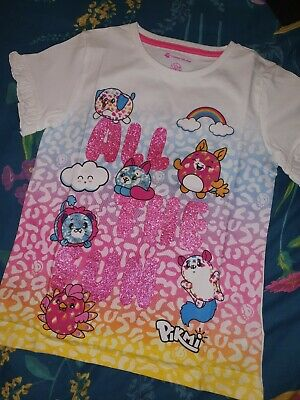 Girls Pikmi Pops T Shirt Age 10 Years Bnwot