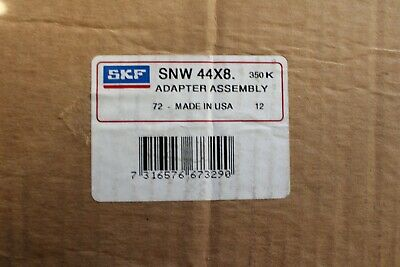 Skf Snw 44X8. Standard Accessories Factory New