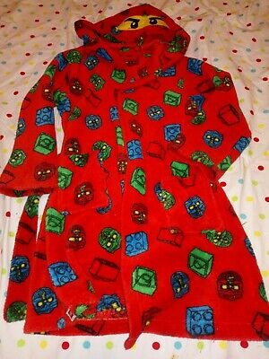 Lego Boys Dressing Gown Age 6-7 Years