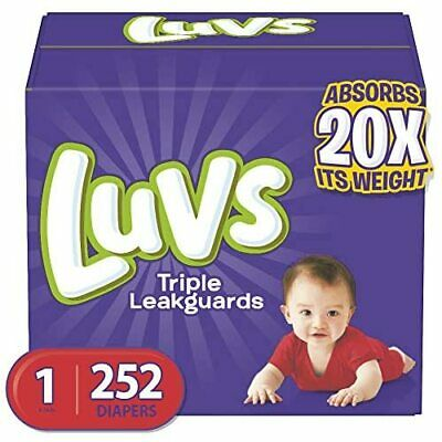 Diapers Size 2, 228 Count - Luvs Ultra Leakguards Disposable  Assorted Sizes