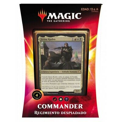 Magic Commander Ikoria, Regimiento Despiadado Deck (Castellano)