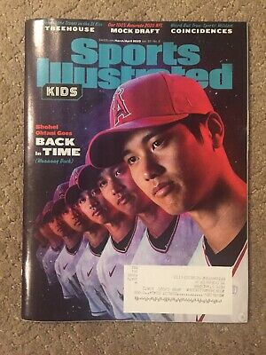 Sports Illustrated Kids Magazine March/April 2020 Shohei Ohtani Back in Time