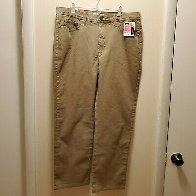 Lee Womens Jeans - Size 16P - Nomad / Brown - Classic Fit / Straight Leg - NWT