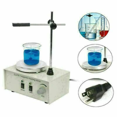 YaeCCC 1000ml Magnetism Stirrer Mixer with heating Plate Magnetic Machine