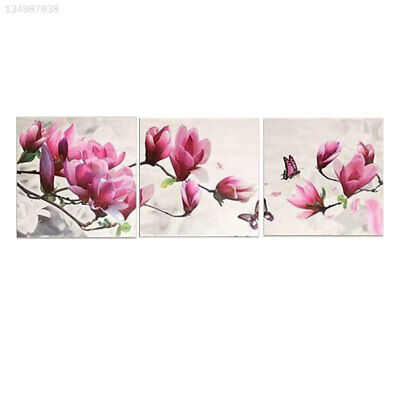 3Pcs/Set Joint Canvas Household Home Paint By Number NEW 2017 Wall Hanging Gift