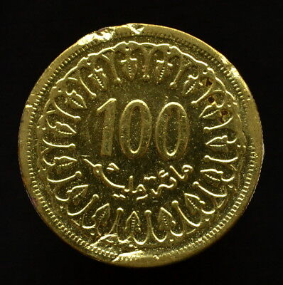 Tunisia 100 Milim. km309, Circulated Coin, Random age.