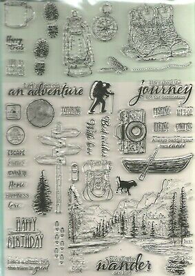 The Great Outdoors  Stamp Set.