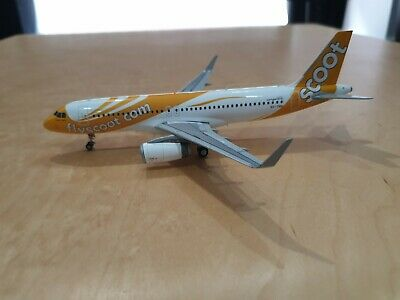 JC Wings 1/200 A320SL Scoot 9V-TRN