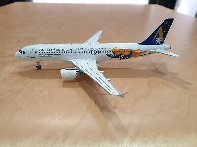 Inflight200 Ansett Australia Olympic Torch Relay A320 VH-HYN 1/200