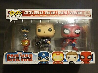 Pop Vinyl Gift Set 4 FunKo 7604 Civil War p0k