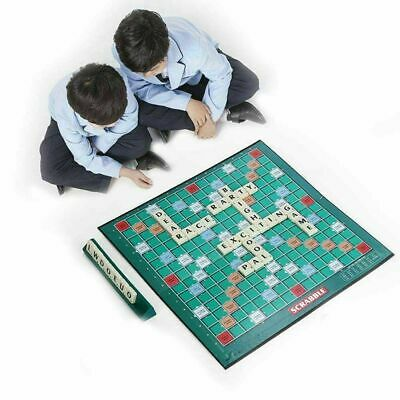 UK Original Adults Educational Toys Puzzle Game Scrabble Board Game Family Kids
