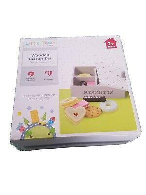 Little Town Wooden Biscuit Set