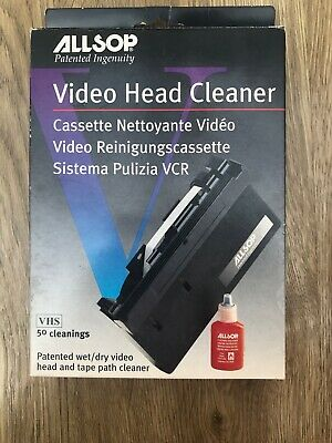 Accessories Ef O Allsop Clean Dr VHS Video Head Cleaning Kit